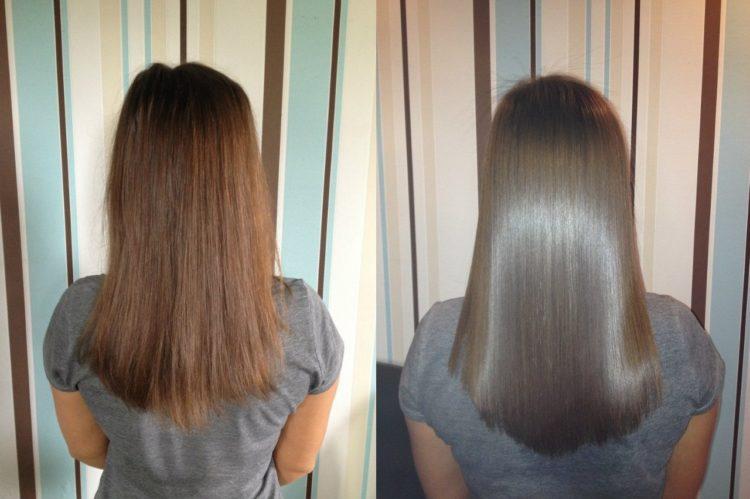Для выпрямления волос народные средства