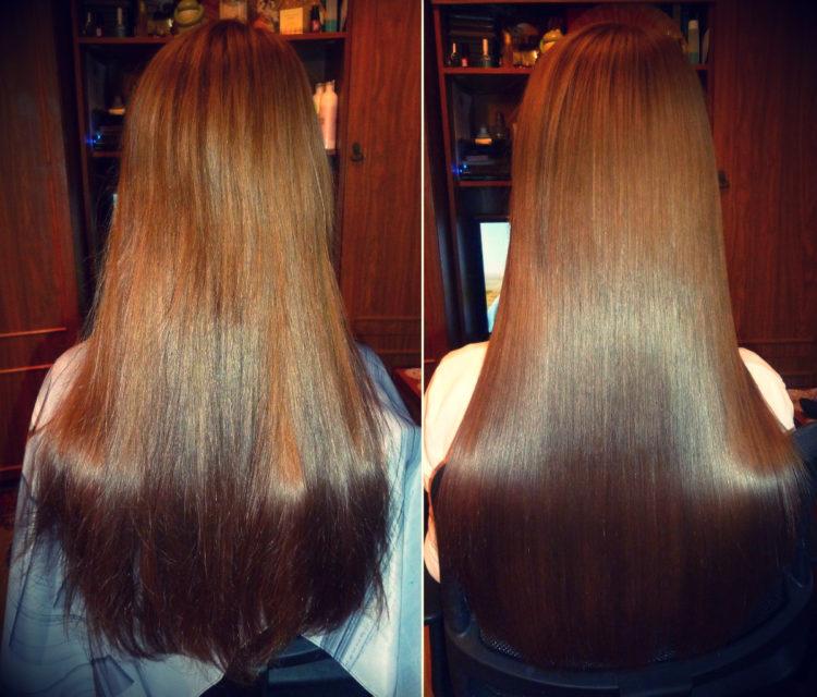 Народные средства для выпрямления волос в домашних условиях